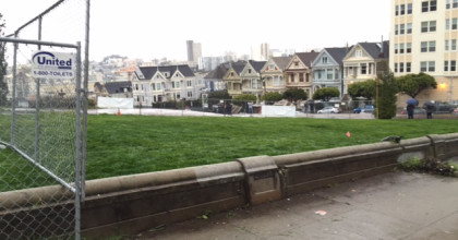 Alamo Square Park's Reopening Has Been Delayed