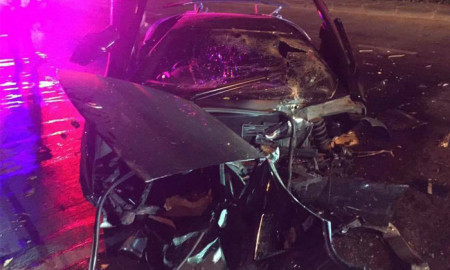 Man crashes friend's Lamborghini into pieces, miraculously uninjured