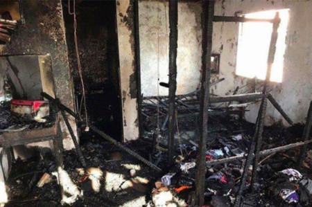 Heartbroken Cebu woman sets home on fire after her American partner left her