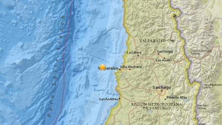 Powerful 7.1 quake shakes central Chile, no damage reported