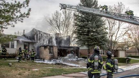 Vacant Littleton home destroyed by fire