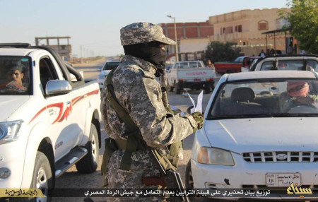 Province of Sinai intercepts bus carrying Rafah teachers twice demanding they wear niqab