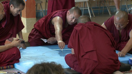 Tibetan monks visit New Orleans to spread message of hope, religious freedom