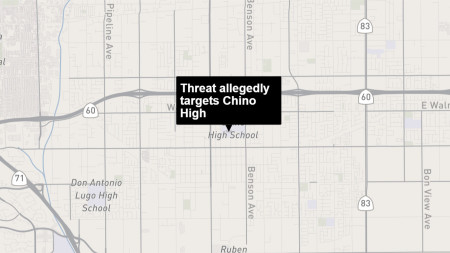 One teen released and another arrested in Chino High School threats case