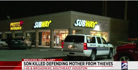 HISD Student Killed Defending His Mom During Robbery at Houston Subway