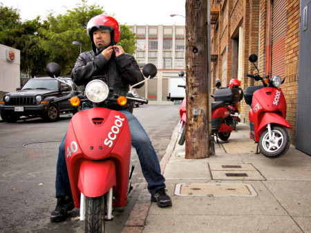 Scoot Over, Parking: SFMTA Considers New Parking Regulations For Electric Mopeds
