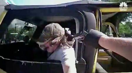 Driver Flees Traffic Stop, Dragging Police Officer