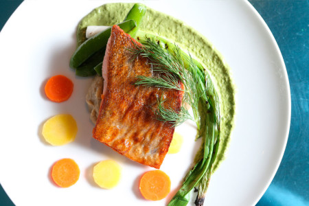 A new menu at the AGO restaurant inspired by the O'Keeffe retrospective