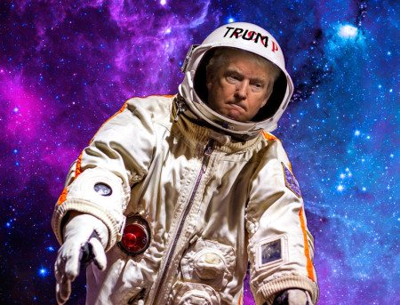 Trump Signs NASA Bill Aimed At Landing On Mars, But Is Still Unimpressed By Space