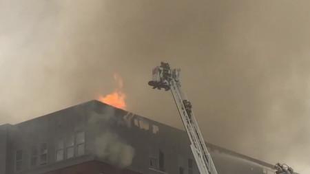 200 Firefighters Battle 5-Alarm Fire Near UMd.