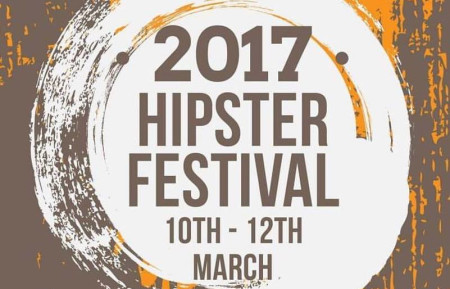 There'll be an actual festival in March shamelessly called the Hipster Festival