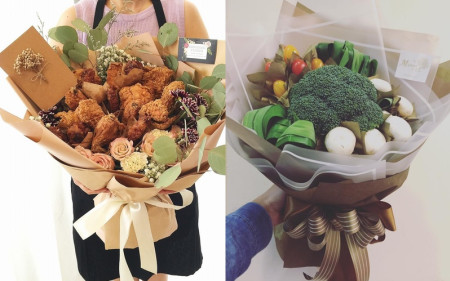Custom edible bouquets take Malaysian netizens by storm