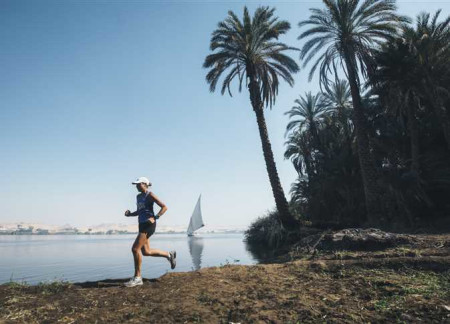 Australian Activist Runs Along the Nile River to Raise Awareness About Water Consumption