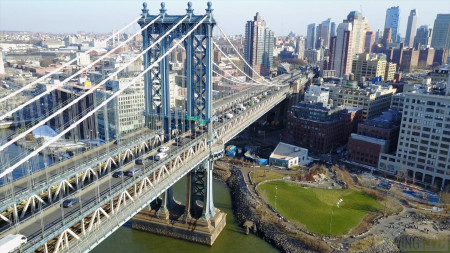 Above New York: The Manhattan Bridge
