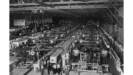From the Archives: Lockheed expands P-38 production