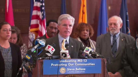 Suffolk County calls on feds for help defeating murderous gang