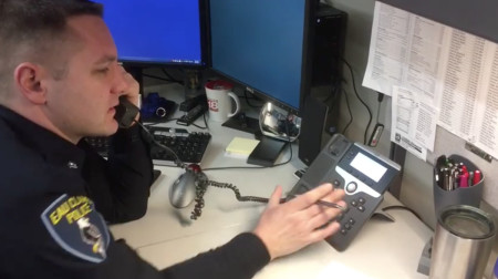 'You said I had committed a fraud or something?': Police officer calls back IRS scammer in viral Facebook video
