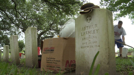 In time for Memorial Day: 10,000 headstones cleaned at Chalmette National Cemetery