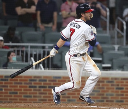 Braves anticipate better results for 'very talented' Dansby Swanson