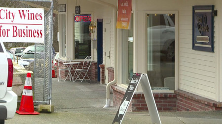Bothell community celebrates some businesses reopening downtown after fire