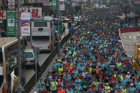 Woman dies after Hong Kong marathon collapse