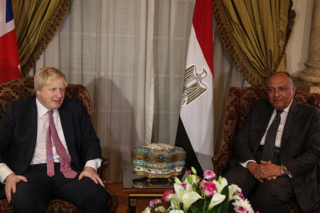 British Foreign Minister Visits Egypt Amid calls to Shed Light on Human Rights Situation