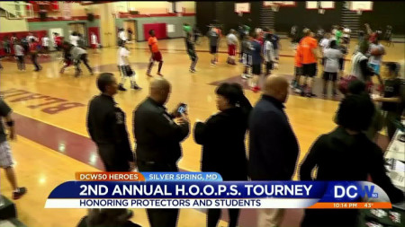 Police, Blair High School leaders count community as big winner in basketball tournament