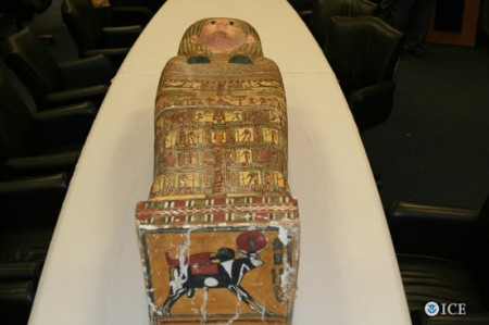 US$50 million smuggled Egyptian artifacts shipped to US in 2016: US Census Bureau