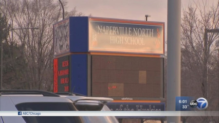 Naperville high school investigating video of students using racial slurs.