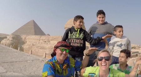 Australian Couple's 'Walk Like An Egyptian' Video Shows the Best of Egypt