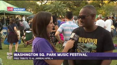 Washington Square Park Music Fest kicks off in the Marigny