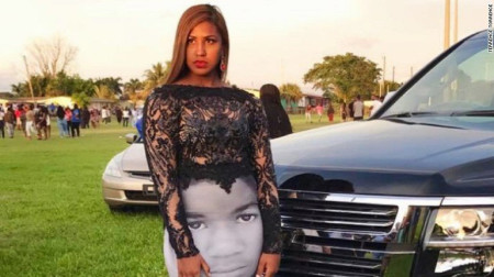 Teen wears Black Lives Matter-inspired dress to prom