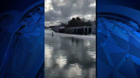 Cops Searching for Lake Winnipesaukee Snowmobile Daredevils
