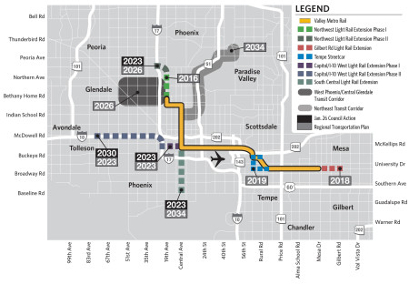 Light Rail Moving Fast Toward South Phoenix, but Who Stands to Benefit?