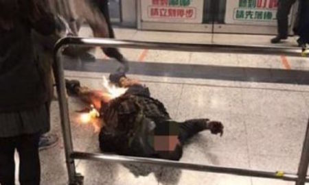 Man charged with arson over MTR fire attack that injured 19