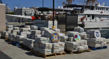 $125M Worth of Cocaine Seized in Atlantic Ocean, 4 Arrested