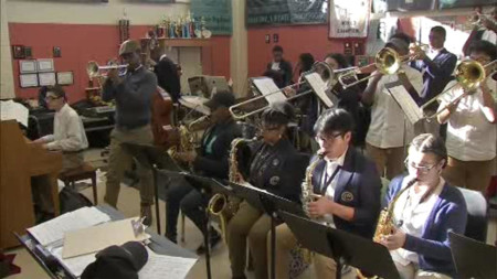Camden high school jazz band seeks community's help to travel to international competition
