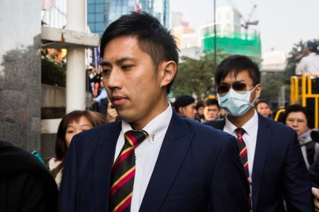 7 Hong Kong police found guilty for attack on Occupy protester