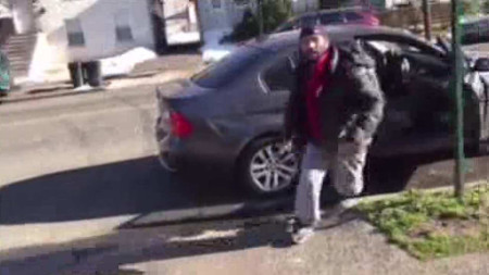 'Driveway rage' incident caught on camera in Elizabeth