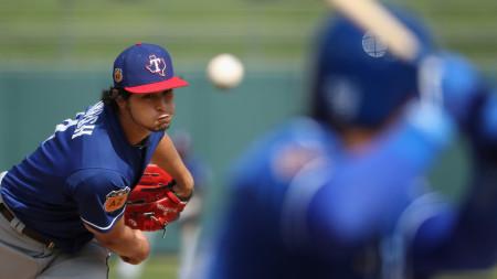 Darvish Holds Royals Scoreless in First Spring Start