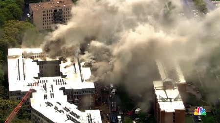 RAW VIDEO: 5 Alarm Fire in College Park