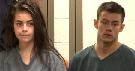 Teen admits to killing her grandparents and sealing up their room – then inviting friends over for a party
