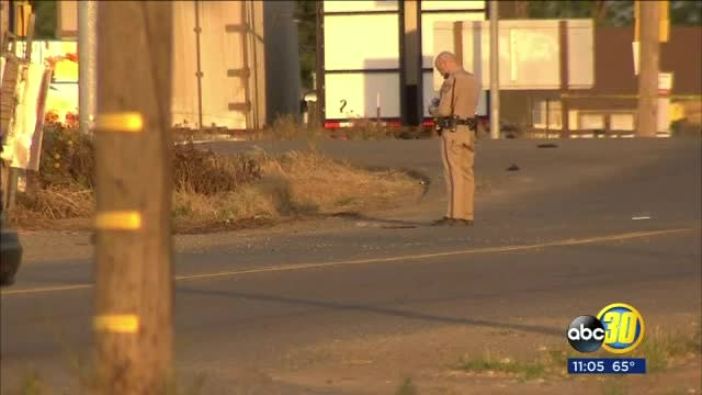 Driver of semitruck stolen from LA kills motorcycle rider in Fresno hit-and-run