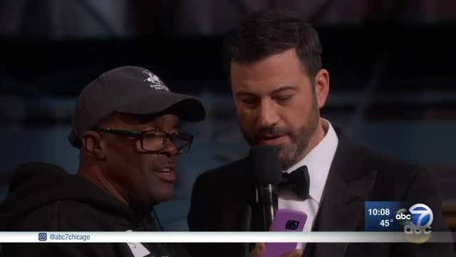 Exclusive interview: Chicago couple steals show at Oscars
