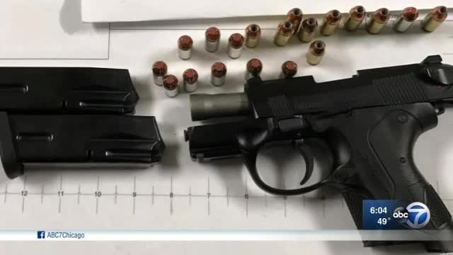 Officials: 4 arrested with guns at Midway Airport this month