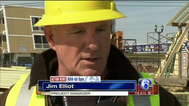 Seaside Heights upgrading roller coaster following Hurricane Sandy
