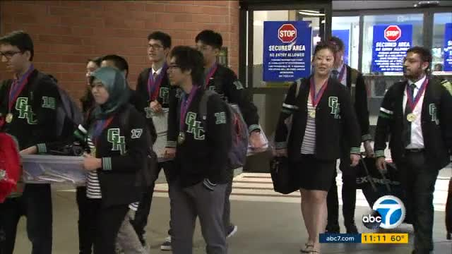 Granada Hills Charter High School wins state decathlon for 6th time in 7 years