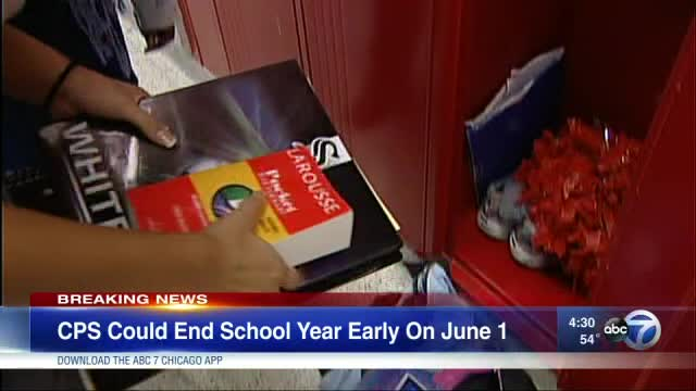 CPS threatens in court documents to end school year on June 1