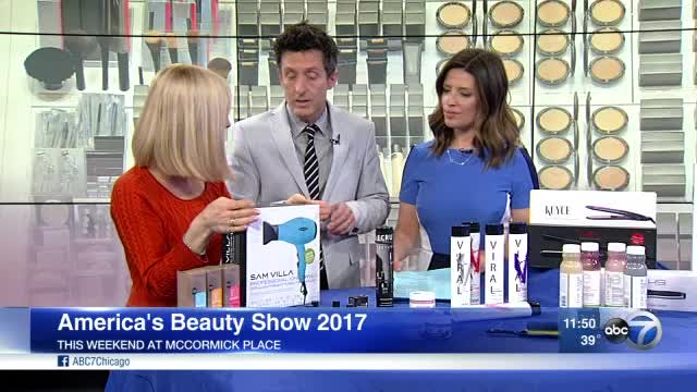 America's Beauty Show features hair products for make styling easier