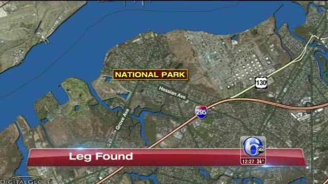 Human leg discovered along Delaware River in NJ